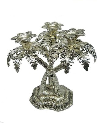 Jupiter Elite Tree Aluminium 3 - Cup Candle Holder