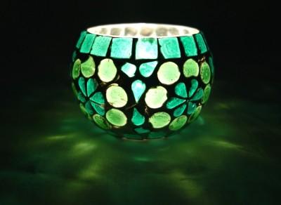 Lal Haveli glass hanging tea light candle holders tealight lanterns Glass 1 - Cup Candle Holder