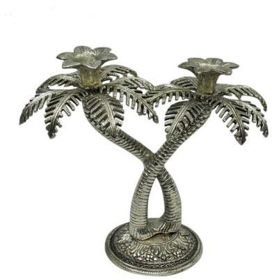 Jupiter Elite Tree Aluminium 2 - Cup Candle Holder