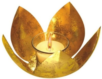 Gaura Art & Crafts Brass 1 - Cup Tealight Holder