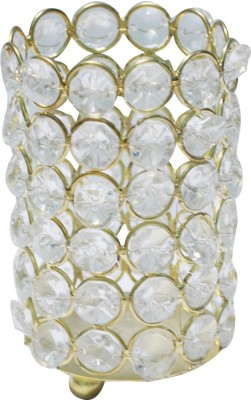 Craftkriti Crystel Holded Cup Shaped Crystal 1 - Cup Tealight Holder