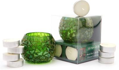 Ragmala Glass Tealight Holder