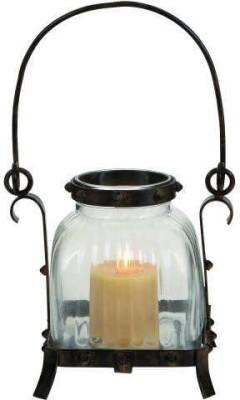 Kala Bhawan Glass Candle Holder
