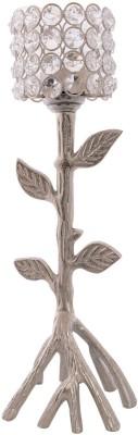 eCraftIndia Love Moments Tree Shape Crystal 1 - Cup Tealight Holder
