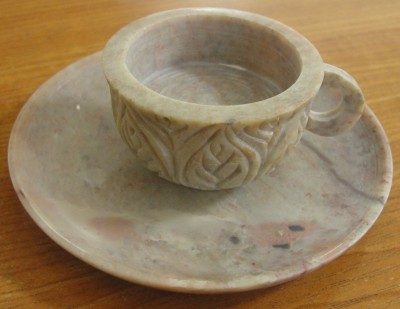 Super Home Stoneware 1 - Cup Tealight Holder