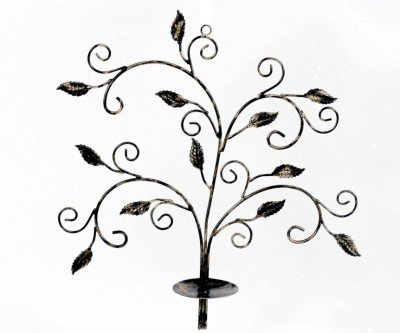 Treasure Hunt Branch of Life Iron Candle Holder