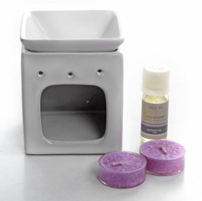 Deco Aro Burner Ceramic 2 - Cup Tealight Holder Set
