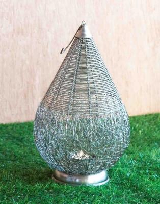 Orange Tree Stupa wire mesh nickle Iron 1 - Cup Tealight Holder