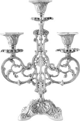 Kala Bhawan Brass 3 - Cup Candle Holder