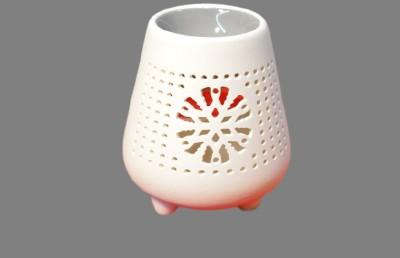 POOJA GHAR Ceramic Tealight Holder Set