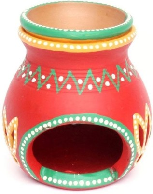 Home Sparkle Terracotta Candle Holder
