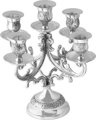 Kala Bhawan Brass 5 - Cup Candle Holder