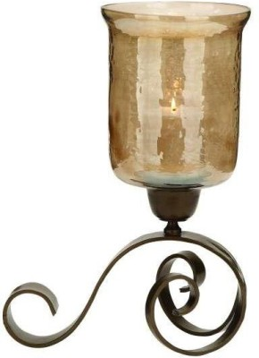 Aadyan Creations Iron Candle Holder(Copper, Pack of 1)