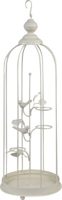 Elan Tall Lamp Iron 3 - Cup Candle Holder