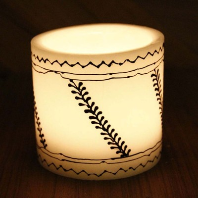 Ekolhapuri Plastic Tealight Holder Set(White, Pack of 1)