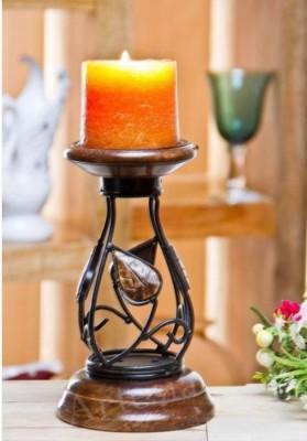 Onlineshoppee Brown Wooden Lantern