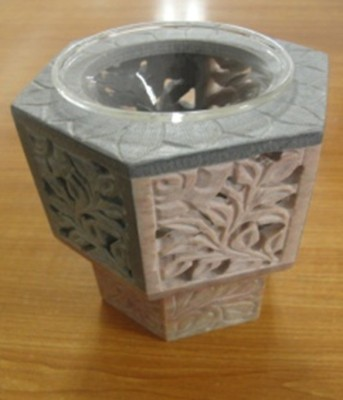 Super Home Ceramic 4 - Cup Tealight Holder