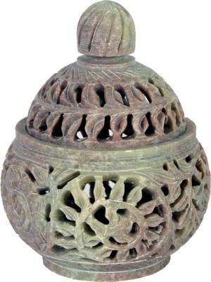 Kaushal Creation Stone Marble Candle Holder