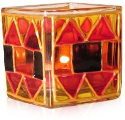 aamori Glass Candle Holder