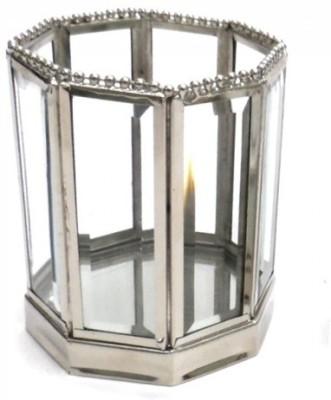 Indian Reverie Glass Tealight Holder