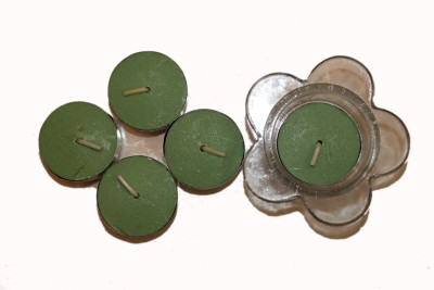 Fragrance Concoction Gardenia fragrance Tealight with stand Candle