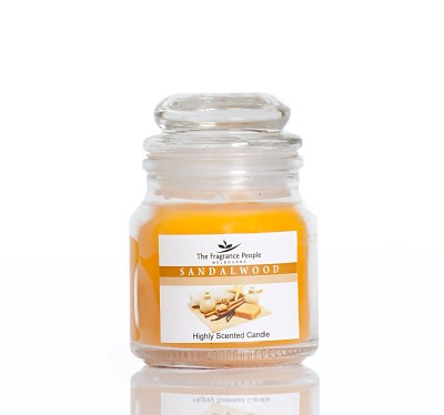 The Fragrance People Small Jar Sandalwood Candle