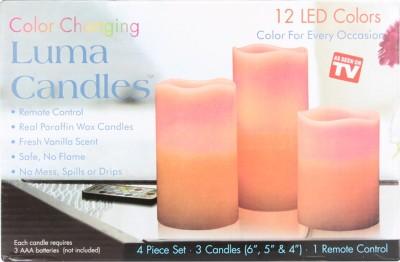 Luma Candle 12 LED Colors Candle