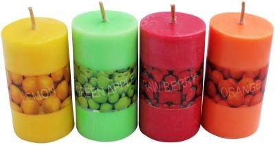 PeepalComm Pillar Scented Candle