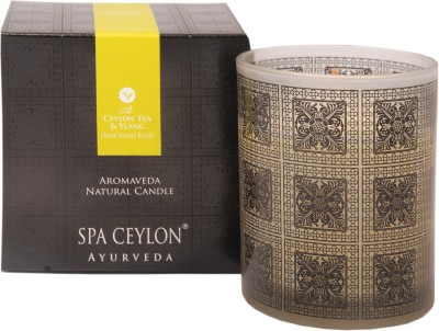 Spa Ceylon Luxury Ayurveda Ceylon Tea & Ylang Home Aroma Blend Natural Candle
