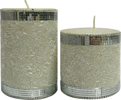 Toygully Hand made Decorative White Candle