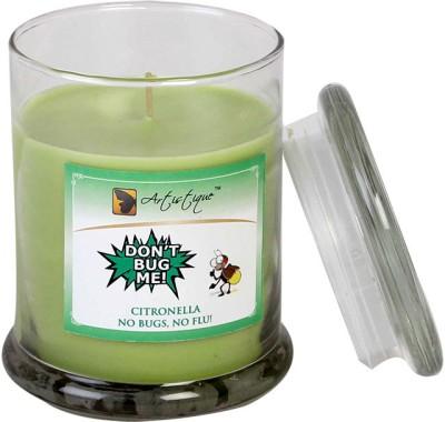 Artistique 9oz Citronella - Mosquito / Bug Repellent Glass Rin Jar Candle