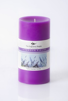 The Fragrance People Large Pillar 3 x 6 Lavender Candle