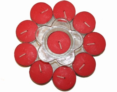 Fragrance Concoction Rose fragrance Tealight with stand Candle