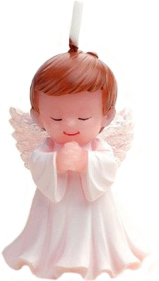 Anokhe Collections Angel boy Candle