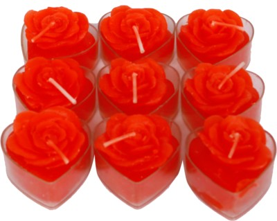 DCH Scented Heart Shape Candles With Case Candle