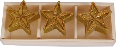 Divsam Shiny Star Decorative Ethical Wax Rushlight Candle