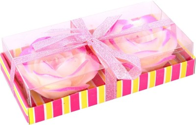 DIZIONARIO Big Rose Floating Flower Candles-2pc Candle