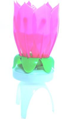 Hashtag Lotus Rotate Candle