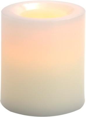 Expressme2u Flameless LED Candle(White, Pack of 1)