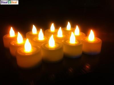 Stealodeal Diwali Flameless Led Diya Candle