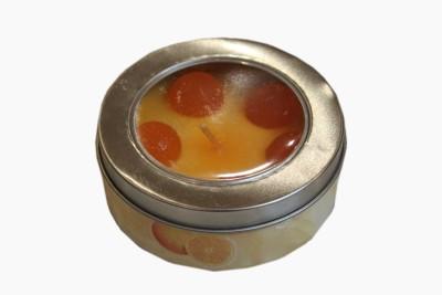 Fragrance Concoction Orange fragrance tin Candle