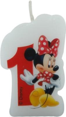 Disney Minnie Café-Birthday Numeral No1 Candle