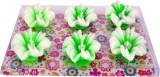 Shreeng Lotus Shape Multicolor Wax Candl...