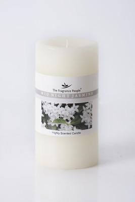 The Fragrance People Large Pillar 3 x 6 Jasmine Candle