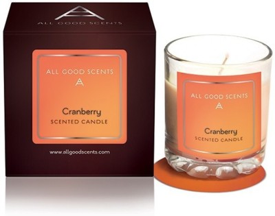 All Good Scents Scented Cranberry Candle