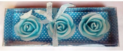 Azone Shopping Scented Floating Blue Set of 3 Candle