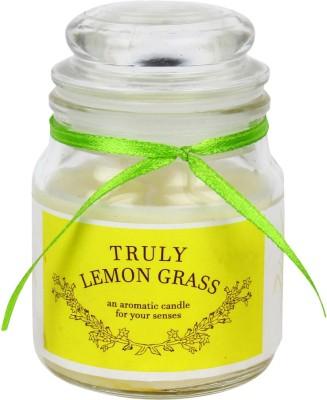 Khatte Meethe Desires Dome Jar Aroma Candle - Lemon Grass Candle