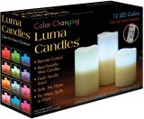 Luma Candles LED LC Candle (White, Pack ...