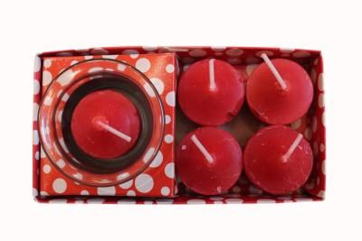 Fragrance Concoction Pack of 4 rose fragrance votive Candle