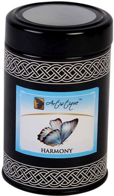 Artistique 8Oz Round tin with see through lid Fragrance (Strawberry) Candle